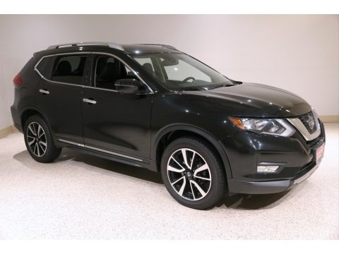 Magnetic Black 2019 Nissan Rogue SL AWD
