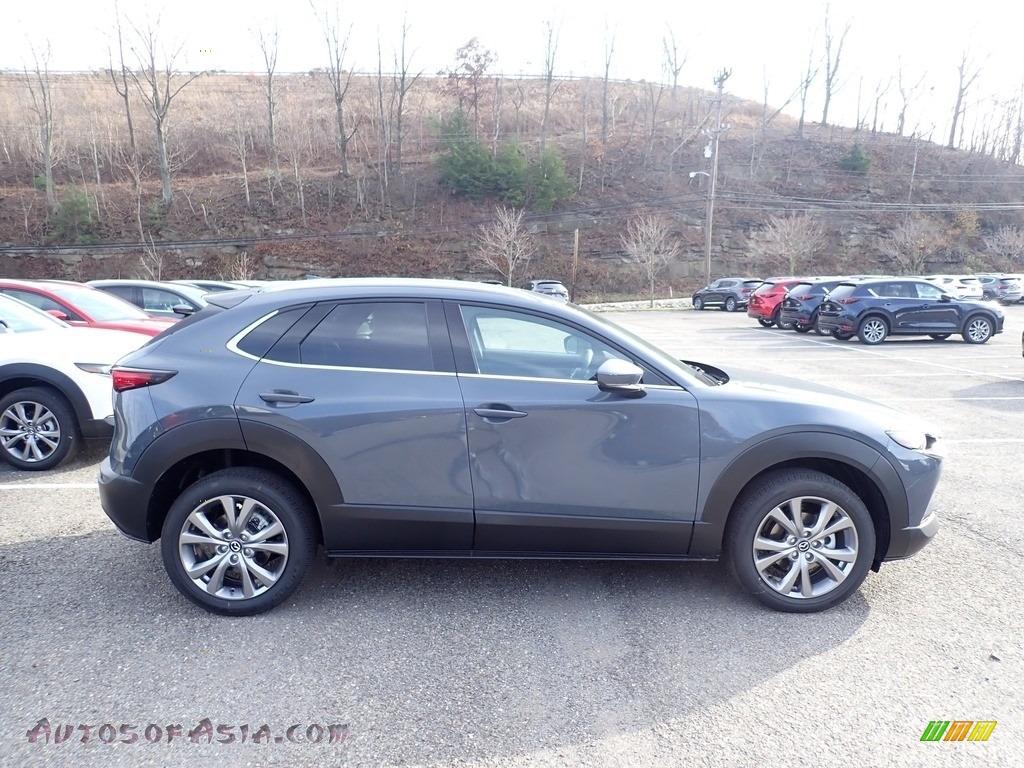 2021 CX-30 Premium AWD - Machine Gray Metallic / Black photo #1
