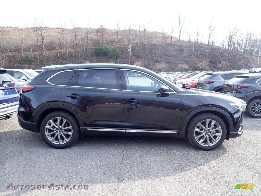 2021 CX-9 Grand Touring AWD - Jet Black Mica / Black photo #1