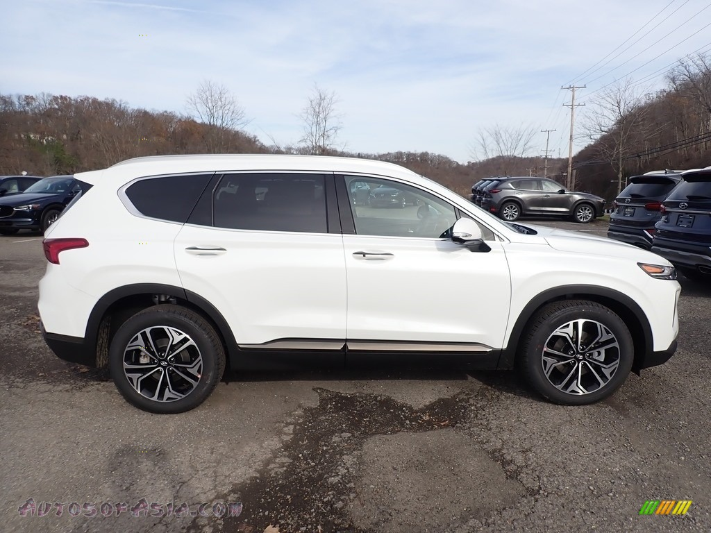 2020 Santa Fe Limited AWD - Quartz White / Black photo #1