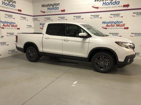 Platinum White Pearl 2020 Honda Ridgeline Sport AWD