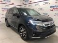 Honda Pilot Elite AWD Crystal Black Pearl photo #2
