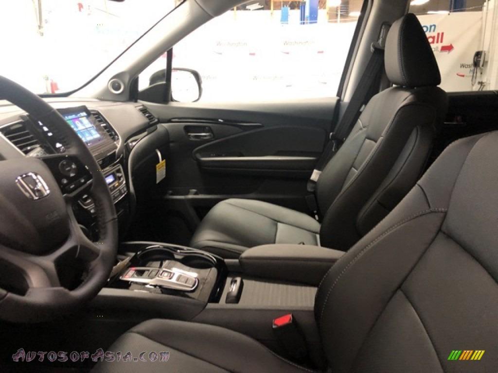 2021 Pilot Elite AWD - Crystal Black Pearl / Black photo #6