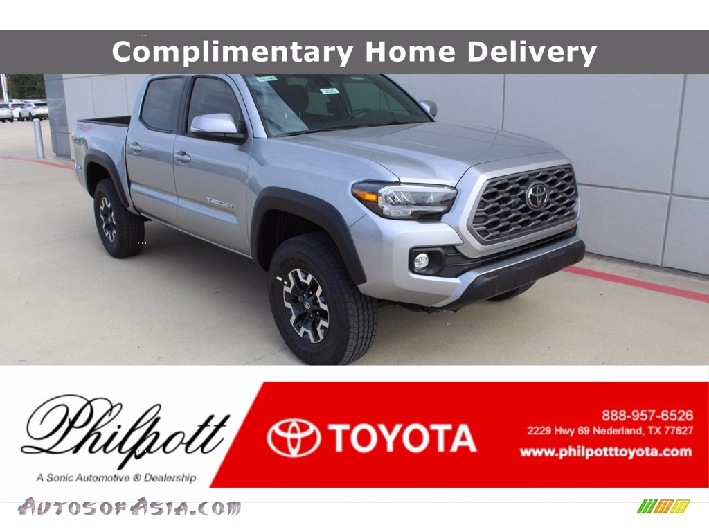 Silver Sky Metallic / TRD Cement/Black Toyota Tacoma TRD Off Road Double Cab 4x4