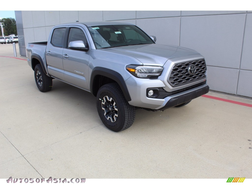 2021 Tacoma TRD Off Road Double Cab 4x4 - Silver Sky Metallic / TRD Cement/Black photo #2