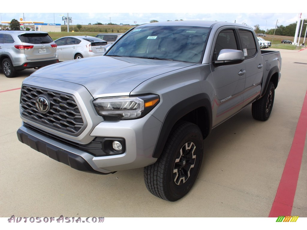 2021 Tacoma TRD Off Road Double Cab 4x4 - Silver Sky Metallic / TRD Cement/Black photo #4