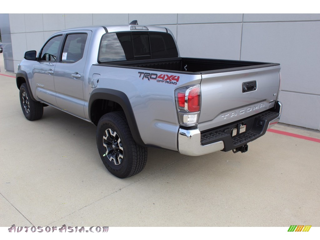 2021 Tacoma TRD Off Road Double Cab 4x4 - Silver Sky Metallic / TRD Cement/Black photo #6
