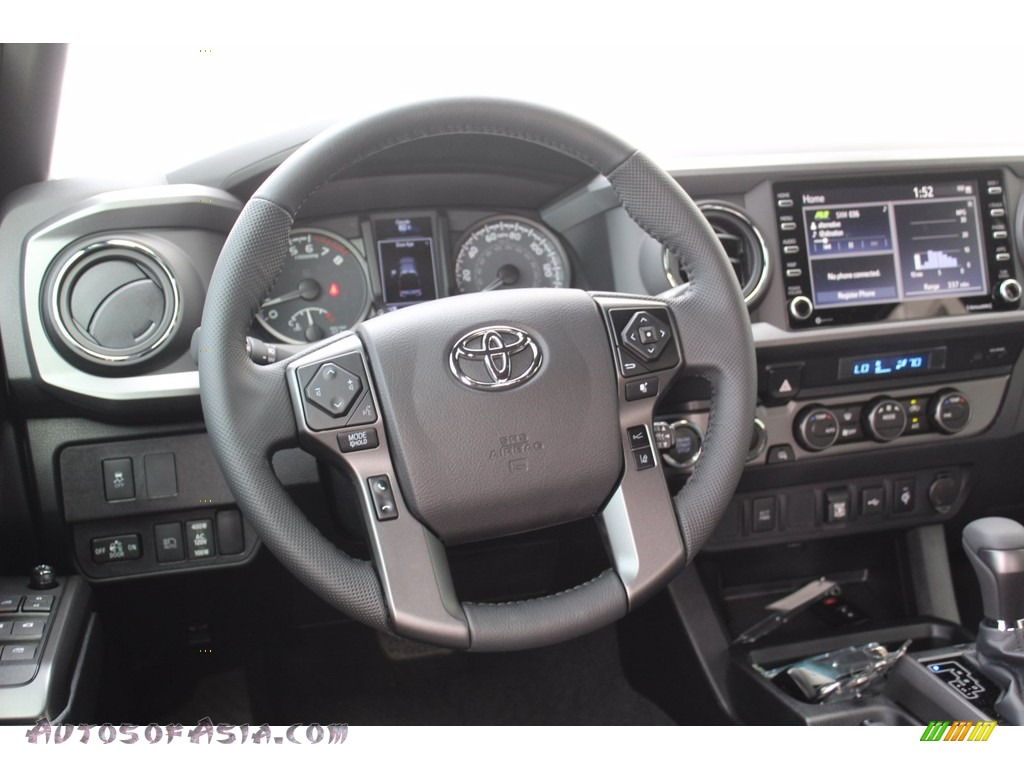 2021 Tacoma TRD Off Road Double Cab 4x4 - Silver Sky Metallic / TRD Cement/Black photo #22
