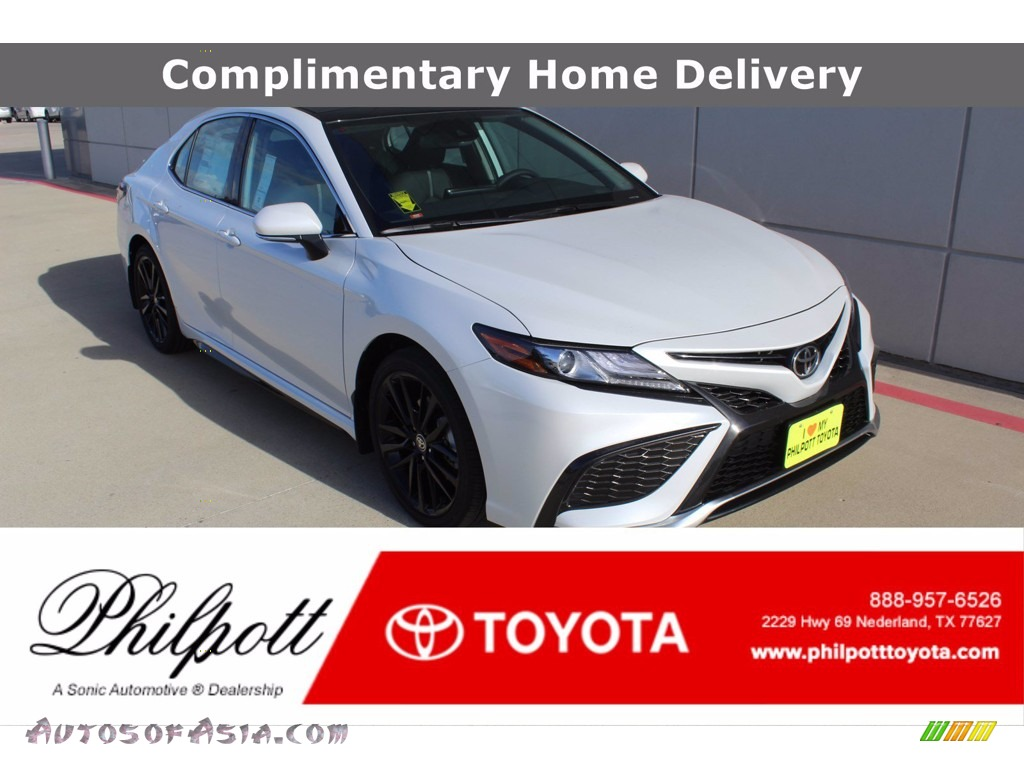 2021 Camry XSE - Wind Chill Pearl / Black photo #1