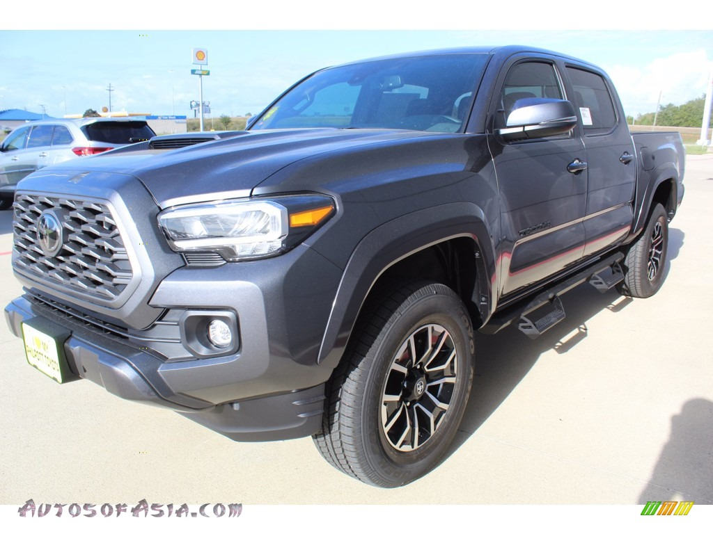 2021 Tacoma TRD Sport Double Cab - Magnetic Gray Metallic / Cement photo #4
