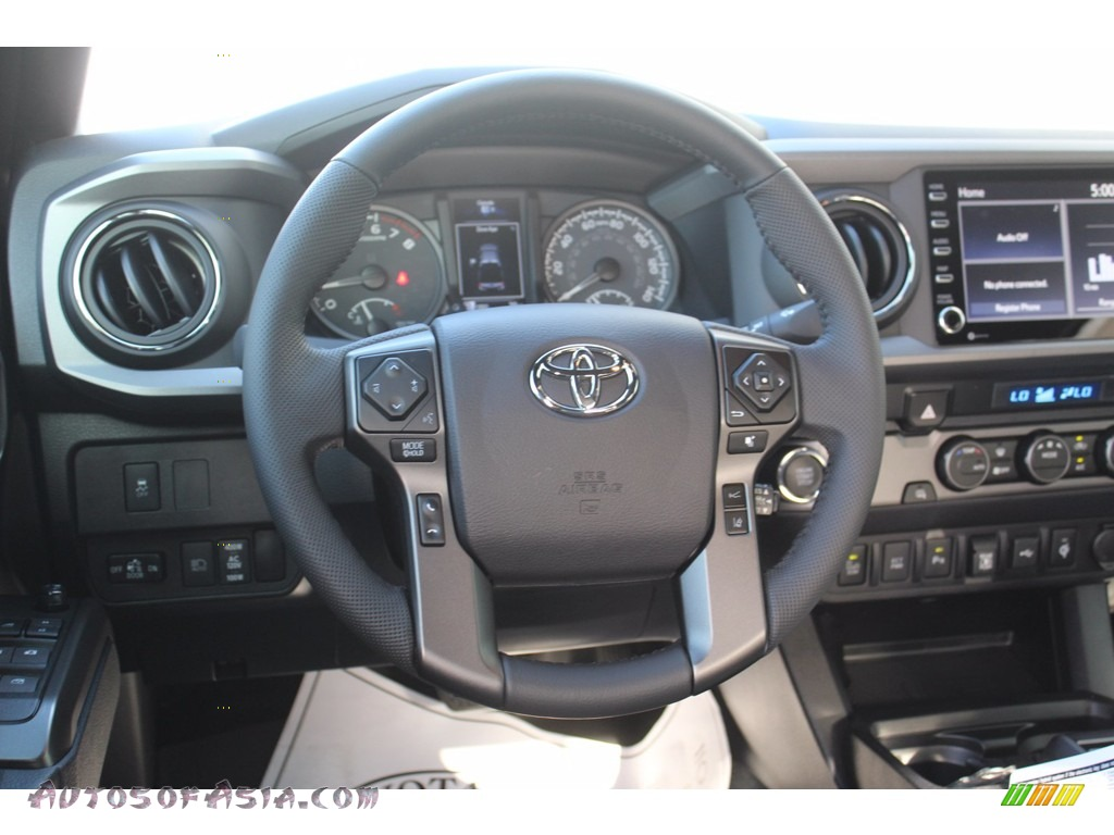 2021 Tacoma TRD Sport Double Cab - Magnetic Gray Metallic / Cement photo #22