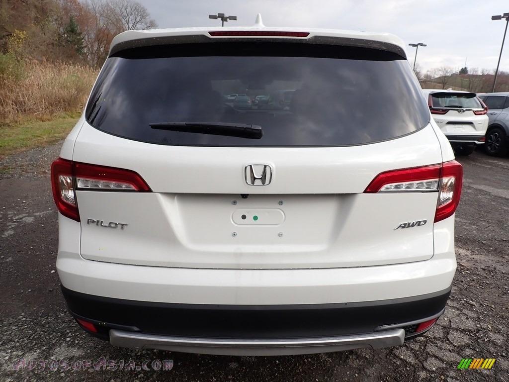 2021 Pilot EX-L AWD - Platinum White Pearl / Beige photo #4