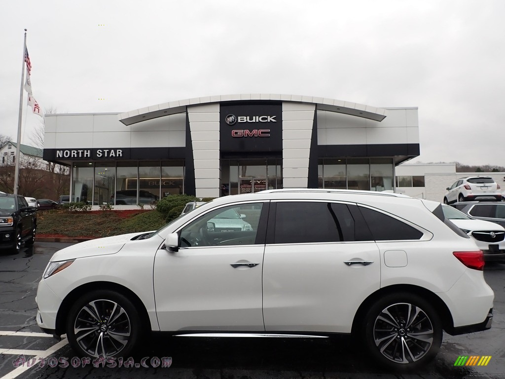 2020 MDX Technology AWD - Platinum White Pearl / Parchment photo #1