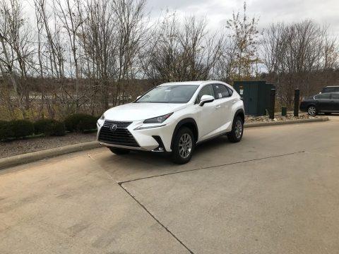 Eminent White Pearl 2021 Lexus NX 300 AWD
