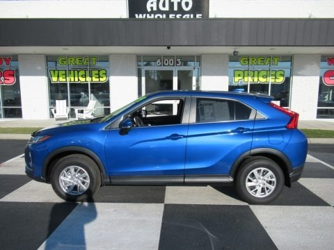 Octane Blue Metallic 2019 Mitsubishi Eclipse Cross ES S-AWC