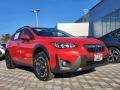 Subaru Crosstrek Premium Pure Red photo #1