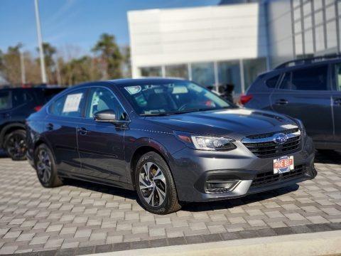 Magnetite Gray Metallic 2021 Subaru Legacy Premium