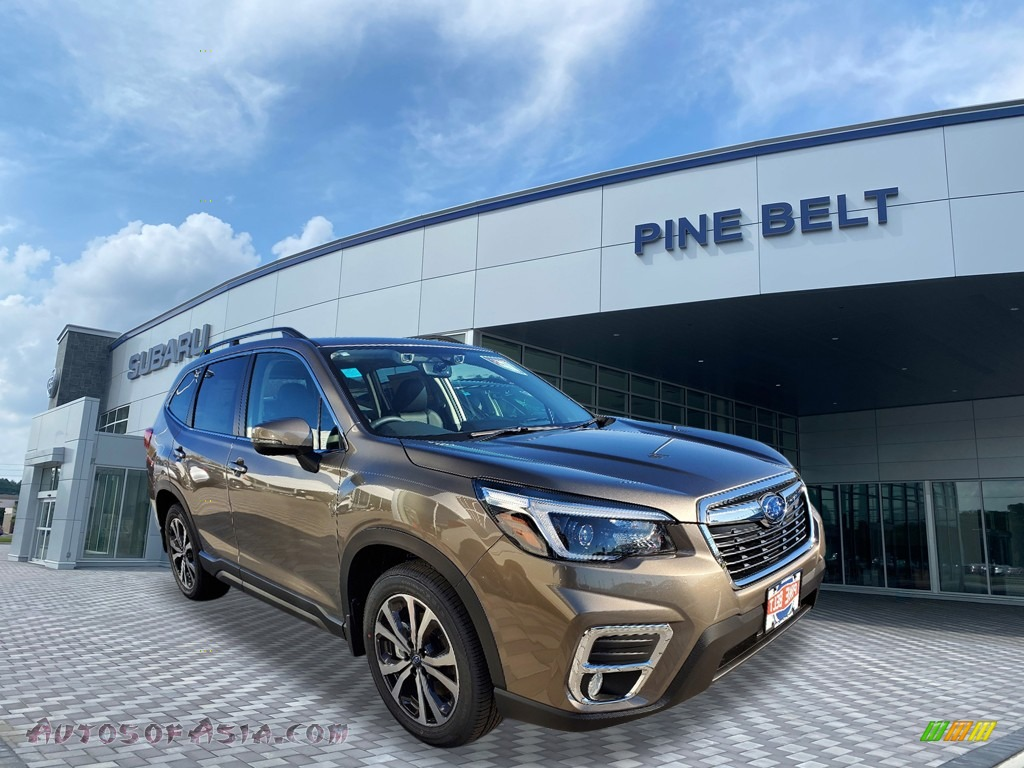 2021 Forester 2.5i Limited - Sepia Bronze Metallic / Black photo #1