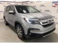 Honda Pilot Touring AWD Lunar Silver Metallic photo #2