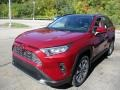 Toyota RAV4 Limited AWD Ruby Flare Pearl photo #7