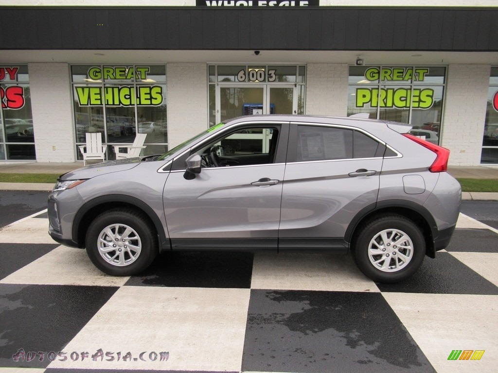 2019 Eclipse Cross ES S-AWC - Alloy Silver Metallic / Black photo #1