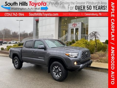 Magnetic Gray Metallic 2021 Toyota Tacoma TRD Off Road Double Cab 4x4