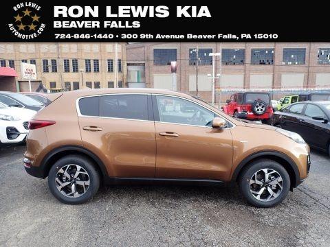 Burnished Copper 2021 Kia Sportage LX AWD