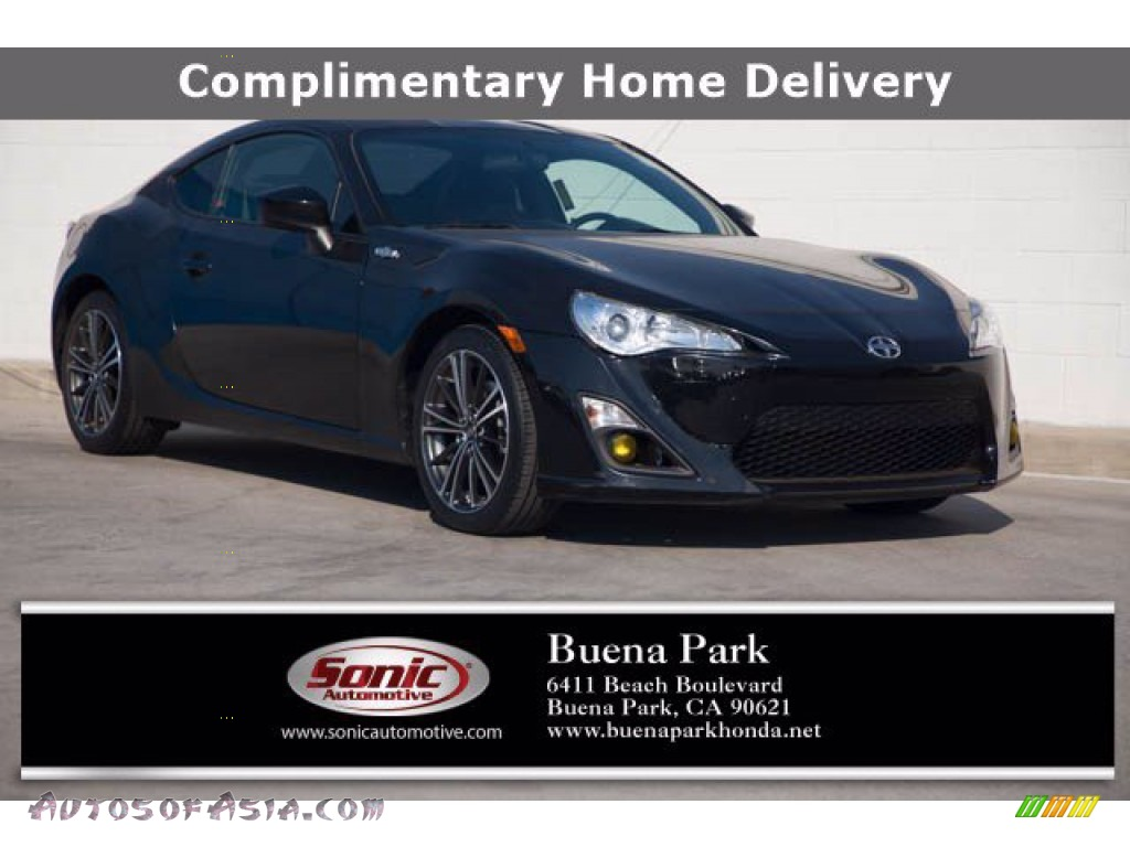 Raven Black / Black Scion FR-S Coupe