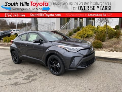 Magnetic Gray Metallic 2021 Toyota C-HR Nightshade