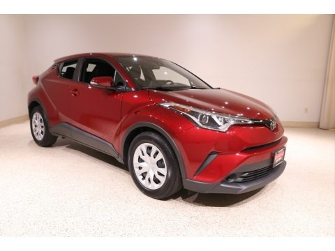 Ruby Flare Pearl 2019 Toyota C-HR LE
