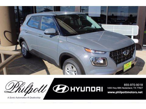 Galactic Gray 2021 Hyundai Venue SE