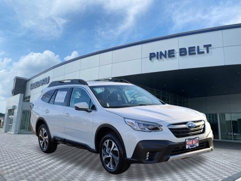 Crystal White Pearl 2021 Subaru Outback 2.5i Limited