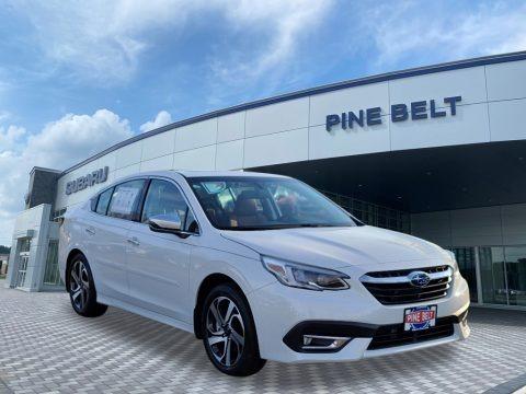 Crystal White Pearl 2021 Subaru Legacy Touring XT