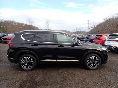 Twilight Black 2020 Hyundai Santa Fe Limited 2.0 AWD
