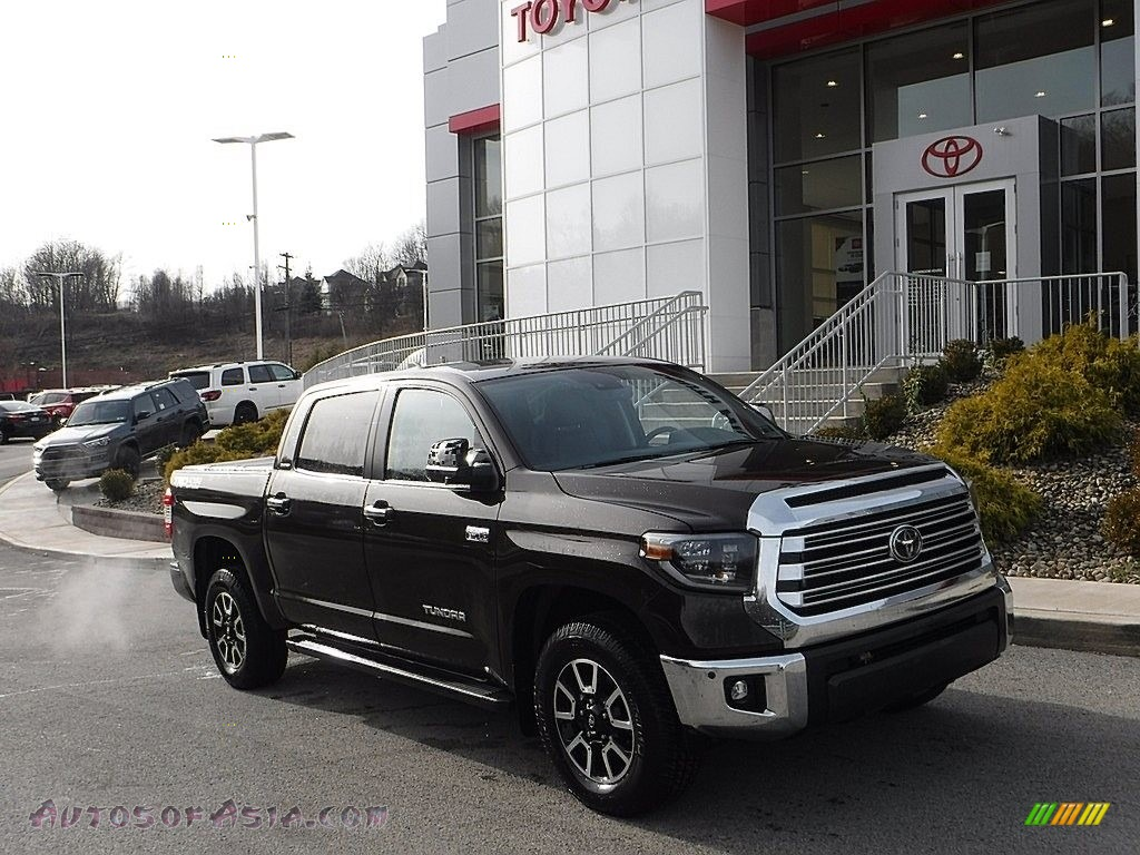 2020 Tundra Limited CrewMax 4x4 - Smoked Mesquite / Black photo #1