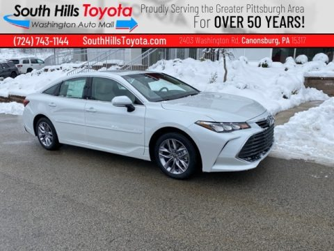 Wind Chill Pearl 2021 Toyota Avalon XLE