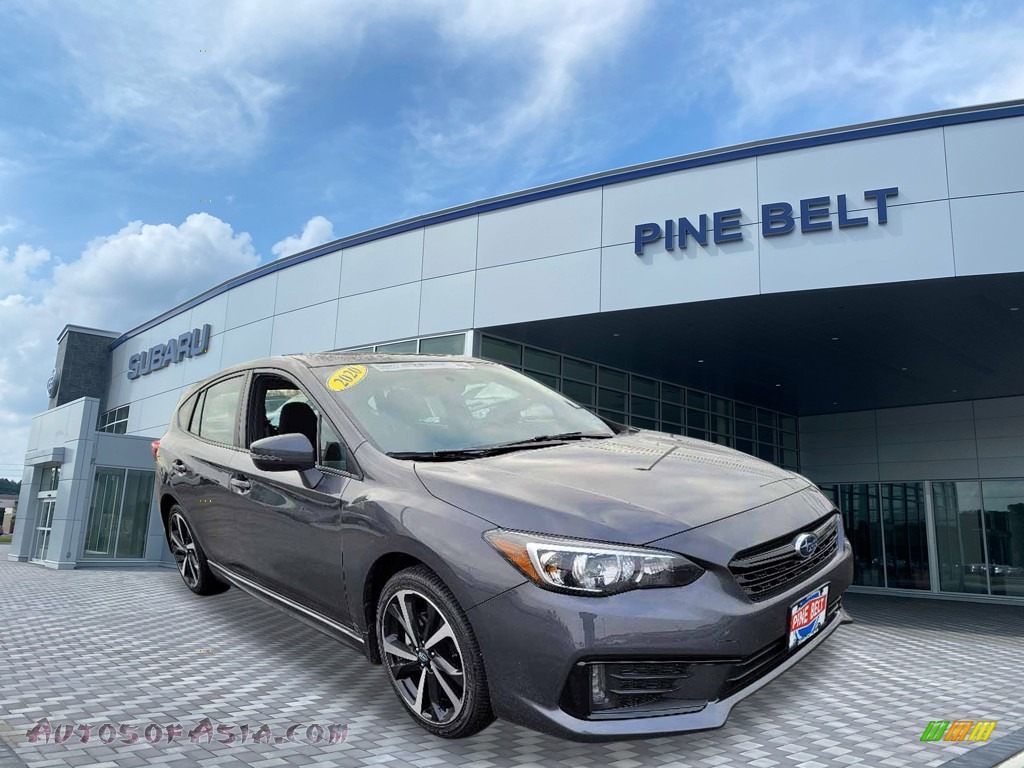 2020 Impreza Sport 5-Door - Magnetite Gray Metallic / Black photo #1