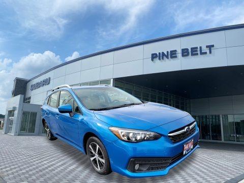 Ocean Blue Pearl 2020 Subaru Impreza Premium 5-Door