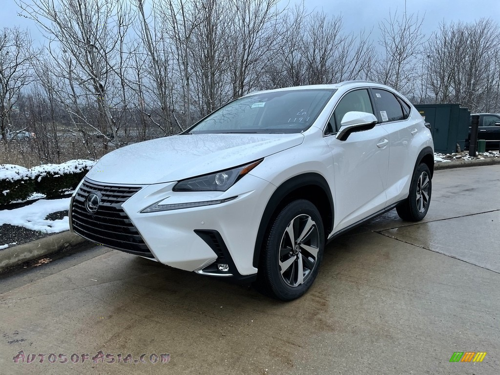 2021 NX 300 AWD - Eminent White Pearl / Black photo #1