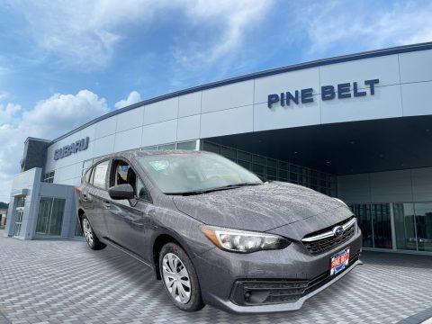 Magnetite Gray Metallic 2021 Subaru Impreza 5-Door