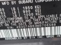 Subaru Impreza 5-Door Magnetite Gray Metallic photo #15