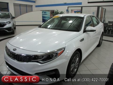Snow White 2020 Kia Optima LX