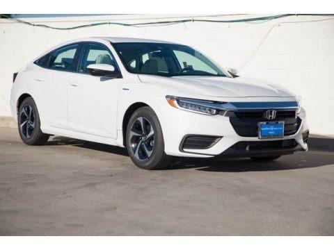 Platinum White Pearl 2021 Honda Insight EX