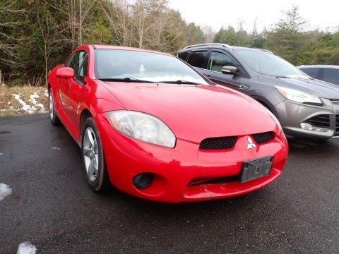 Pure Red 2007 Mitsubishi Eclipse GS Coupe