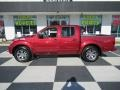 Nissan Frontier SV Crew Cab 4x4 Cayenne Red Metallic photo #1