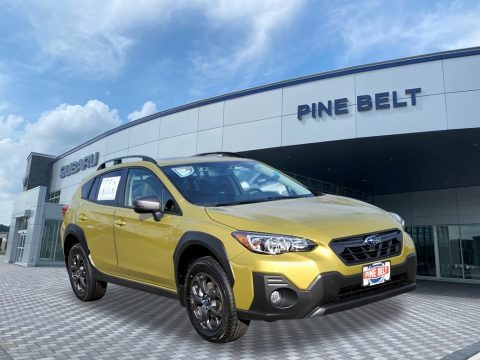 Plasma Yellow Pearl 2021 Subaru Crosstrek Sport