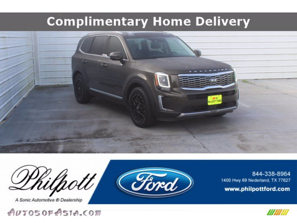 2020 Telluride EX AWD - Dark Moss / Black photo #1