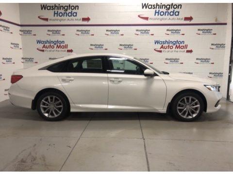 Platinum White Pearl 2021 Honda Accord LX
