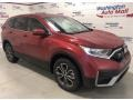 Honda CR-V EX-L AWD Radiant Red Metallic photo #2