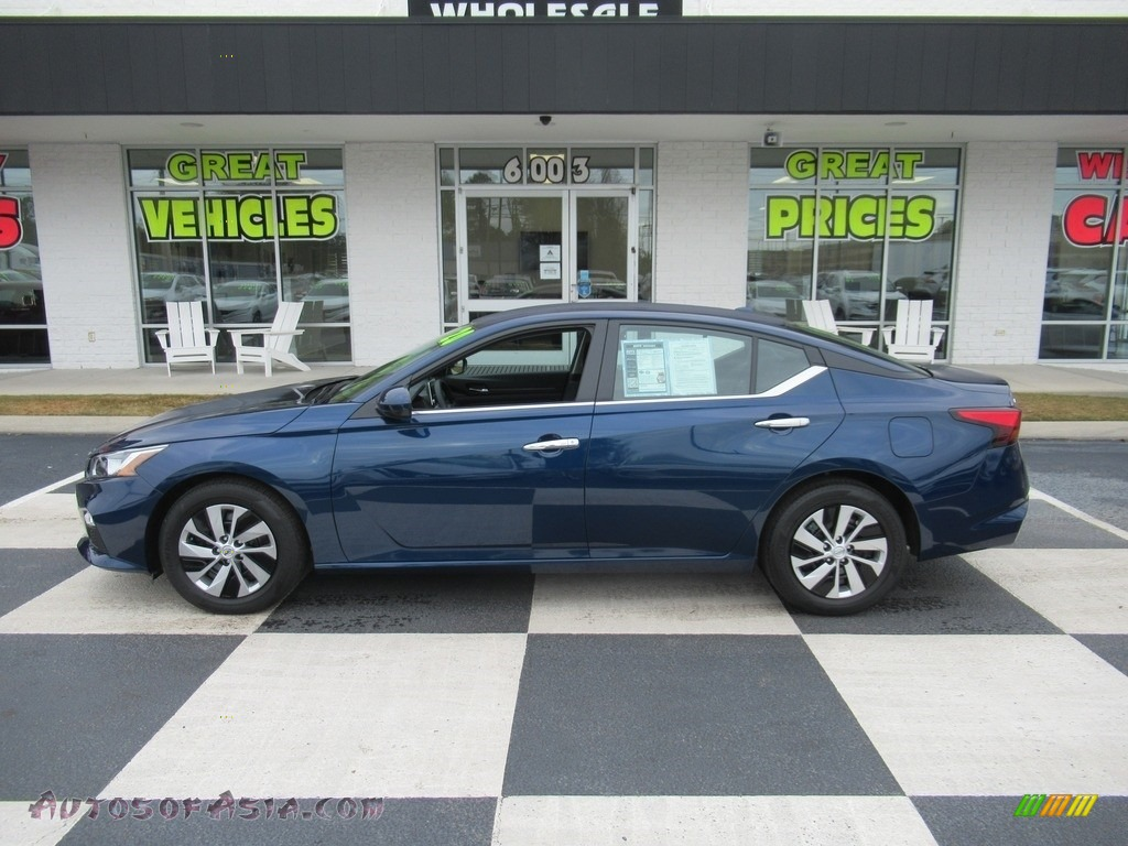 2020 Altima S - Storm Blue Metallic / Charcoal photo #1